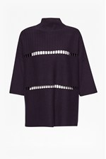 Looks Great With Milano Mozart Laddered Oversized Jumper