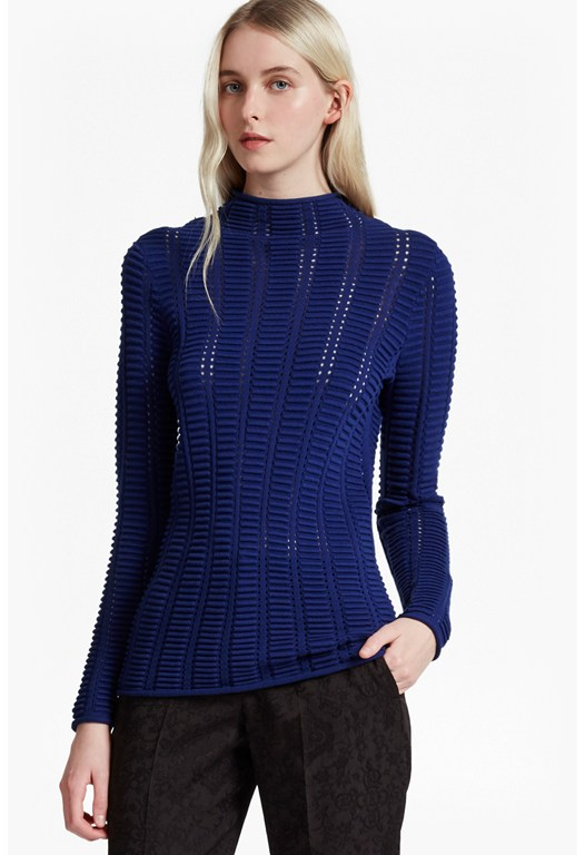 Mozart Ladder Open Knit Jumper