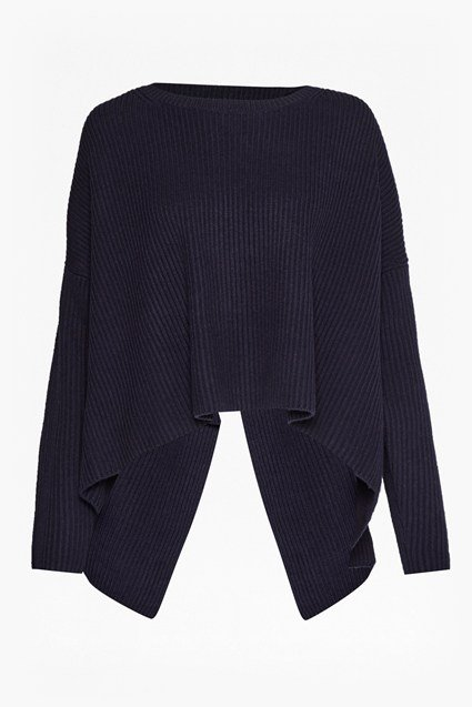 Twist Back Shaker Jumper