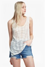 Looks Great With Klint Stitch Knit Tank Top