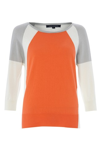 Kate Colour Block Raglan Jumper