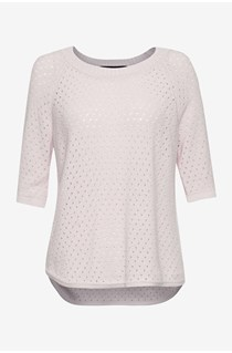 Sloanie Slub Scoop Neck Jumper