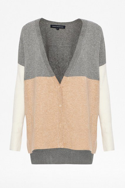 Vhari Colour block Cardi