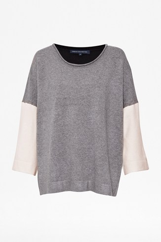 Vhari Colour Block Jumper