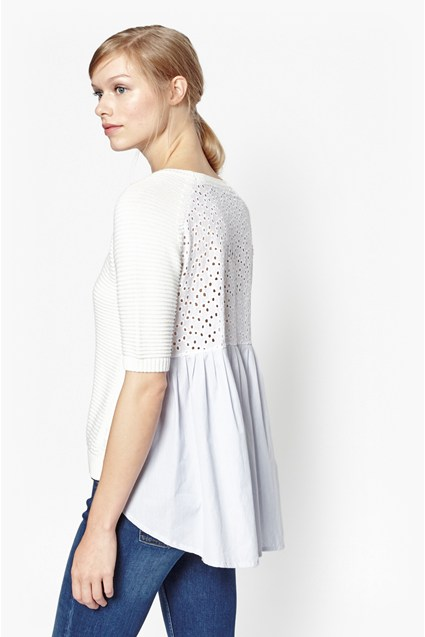 Effie Knits Dot Detail Jumper