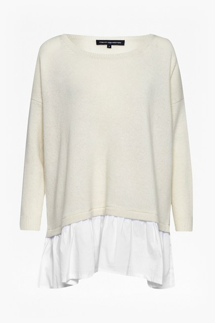 Clara Layered Oversized Ruffle Jumper