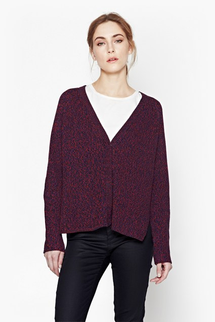 Naughty Bright Knitted Cardigan