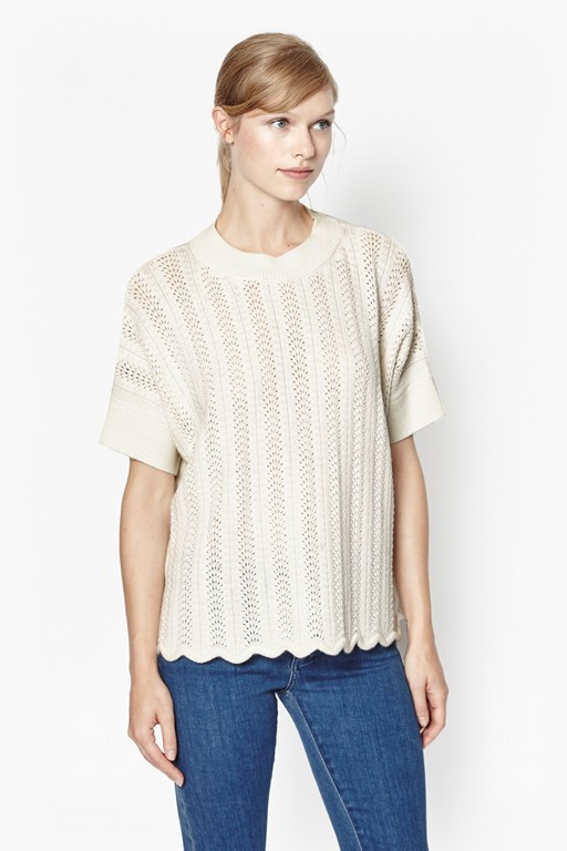 Complete the Look Iris Oversized Merino Wool Jumper