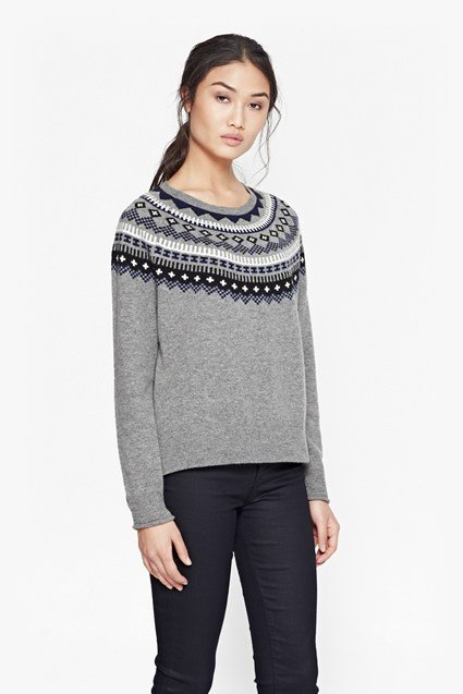 Fran Fair Isle Wool Jumper