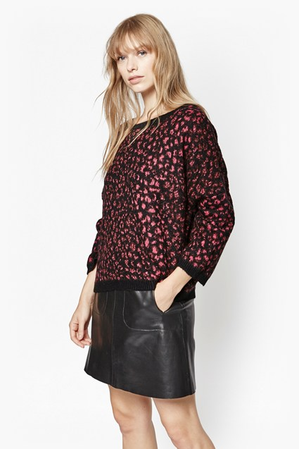 Electric Leopard Jumper