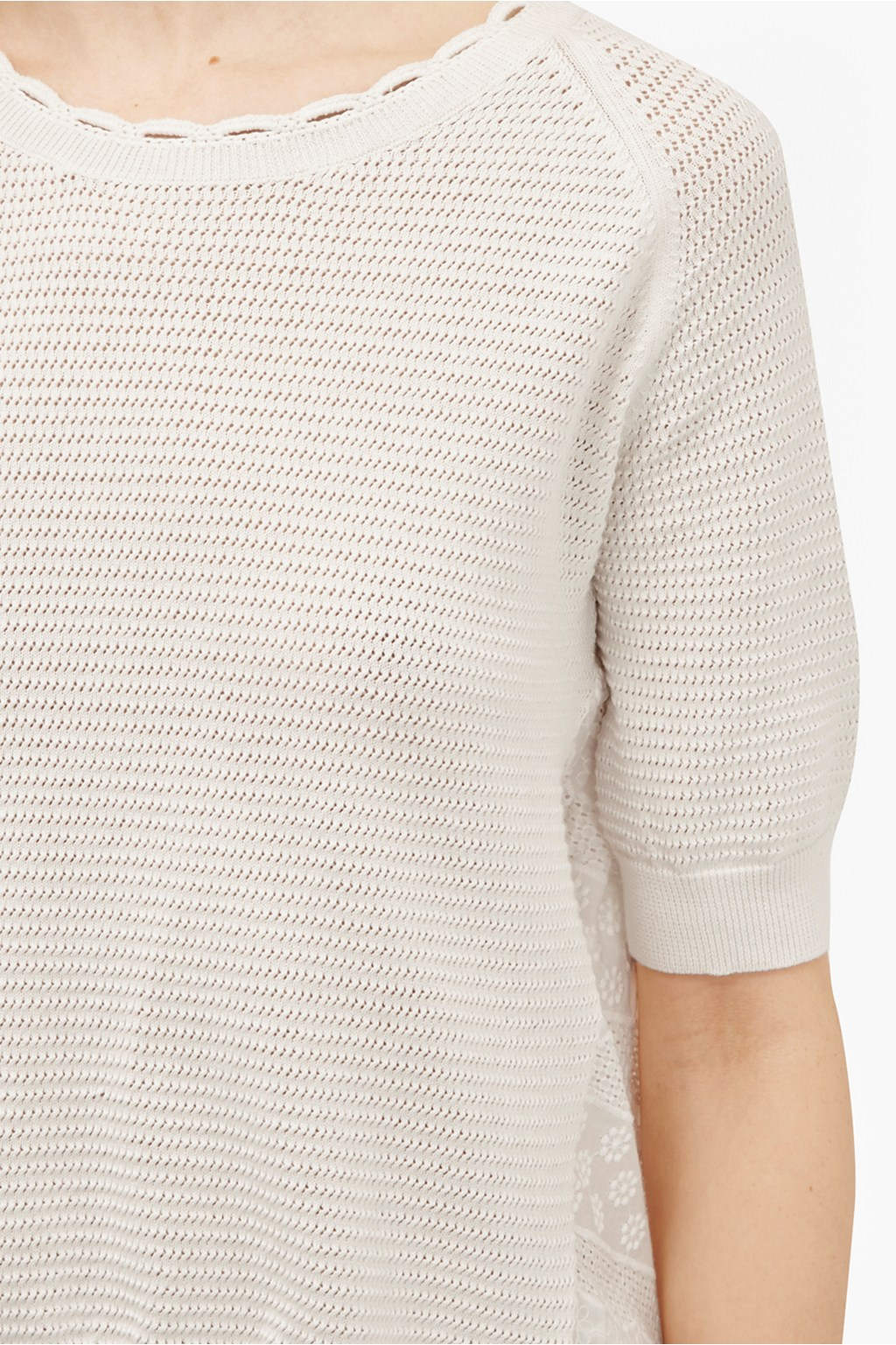 53297589c9068f loading images... loading images... Celia Scallop Knitted Jumper