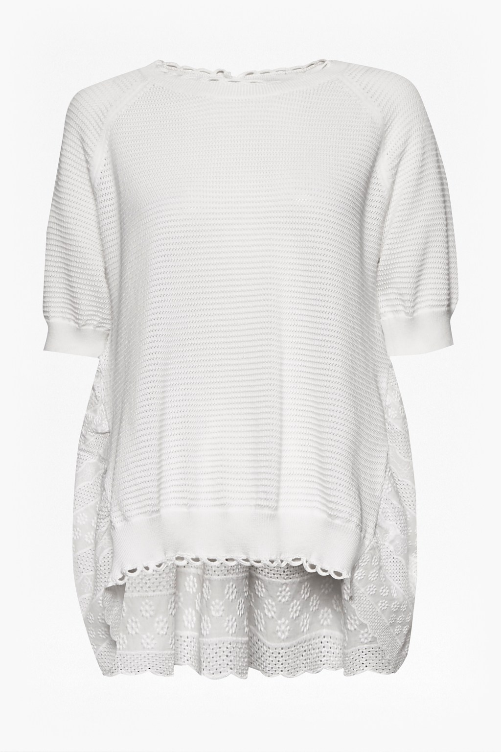 67f06a27c4346f loading images... Celia Scallop Knitted Jumper. loading images.
