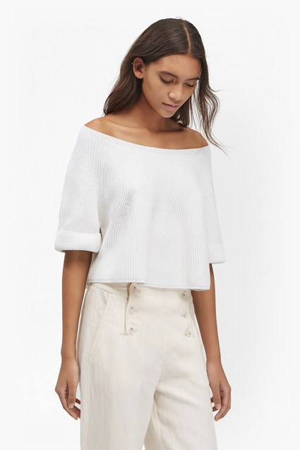 Tilly Cropped Knitted Jumper