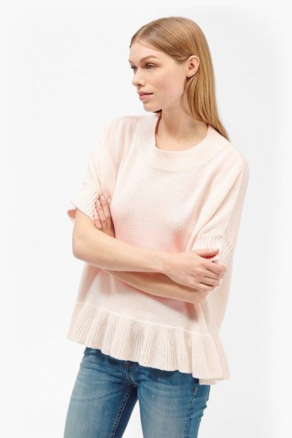 Frill Knits Short Sleeve Jumper