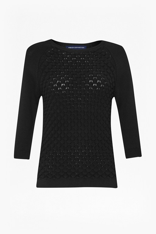 Complete the Look Audrey Textured Knitted Jumper