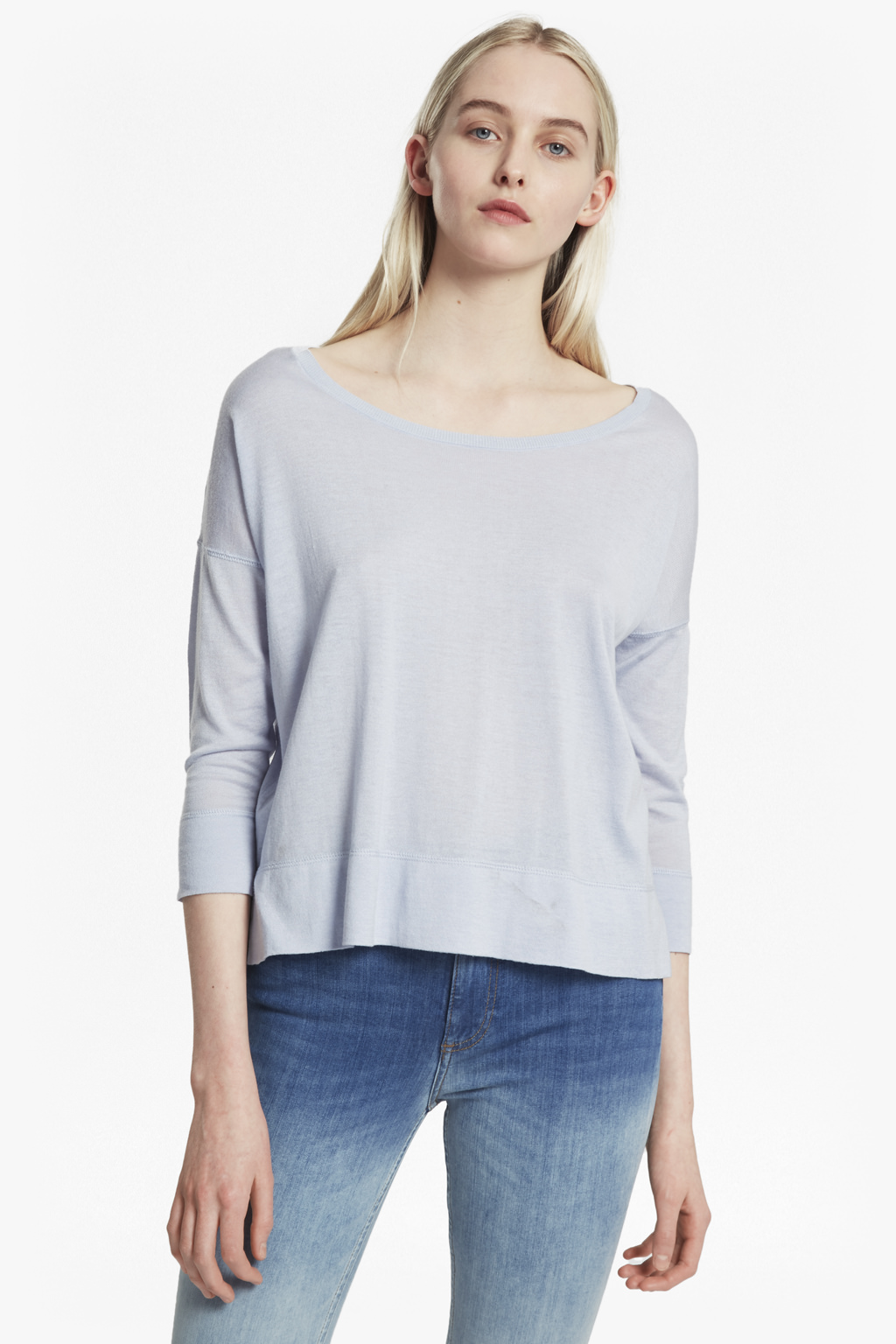 French Connection Spring Knit Top, Utility