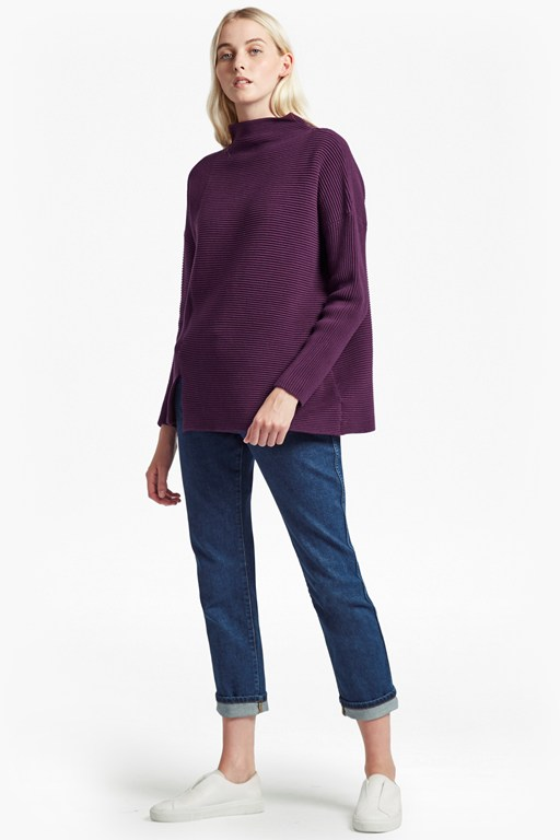 sunday mozart high neck jumper