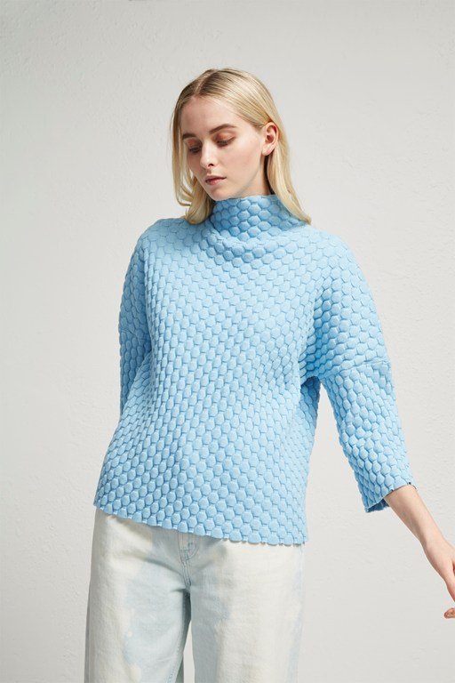 mona mozart knit oversized jumper
