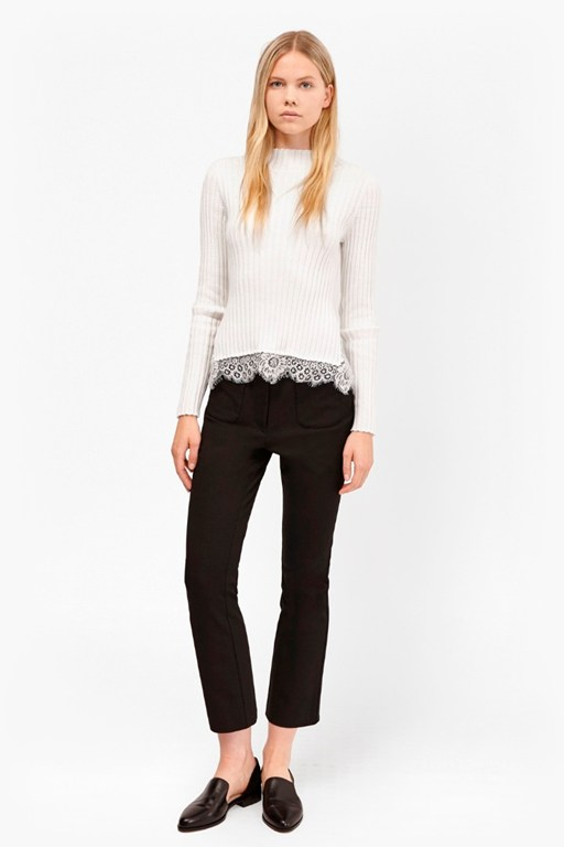 Complete the Look Nicola Knits Ribbed Jumper
