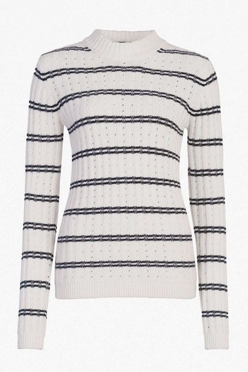 Complete the Look PO Rib Knits High Neck Jumper