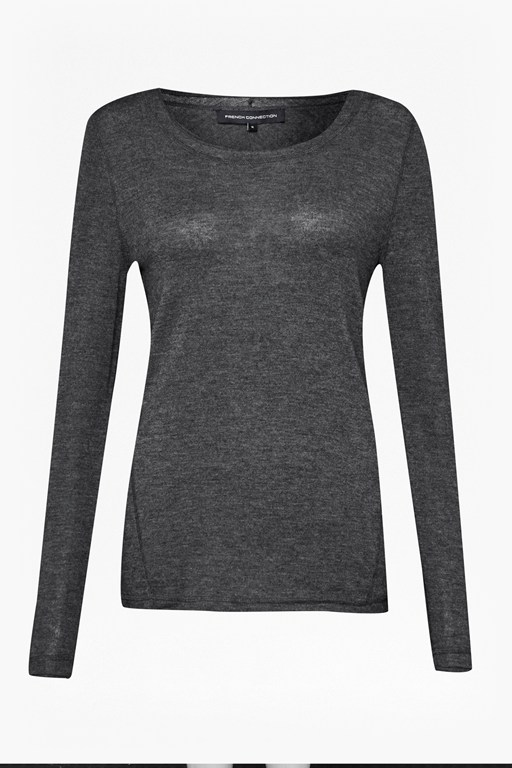 cashmere superfine crew neck jumper