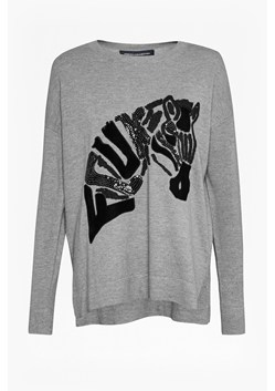 Zebra Applique Knit Jumper