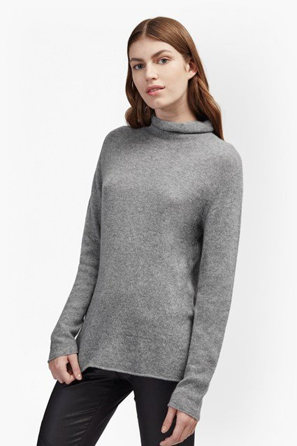 Carrie Cashmere Roll Neck Jumper