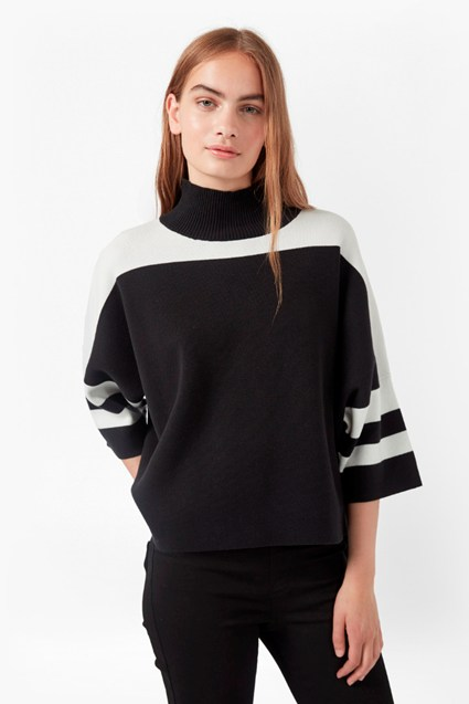 Mozart Colour Block Jumper