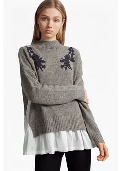 Alice Nep Knit Lace Jumper