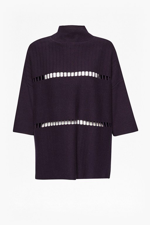 Complete the Look Milano Mozart Laddered Oversized Jumper