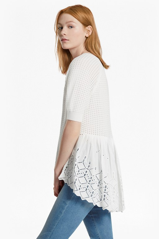 Bea Embroidered Crew Neck Jumper