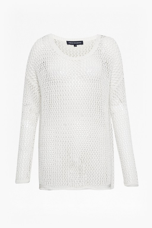 Complete the Look Faye Knit Fishnet Jumper