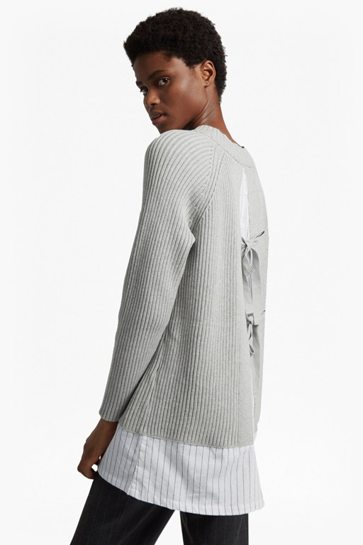 ila knit long sleeved high neck jumper