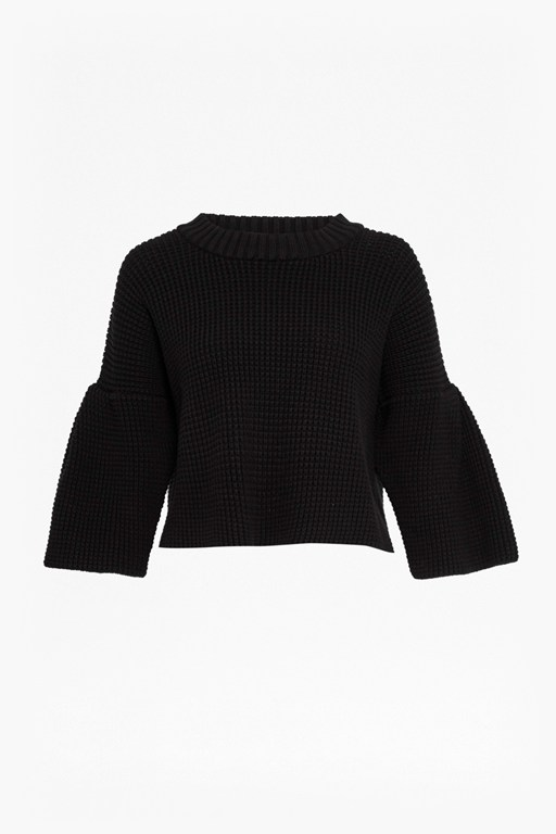 Complete the Look Ellie Waffle Knit Cropped Jumper