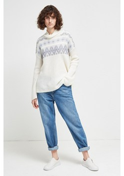 Fleur Fair Isle High Neck Jumper