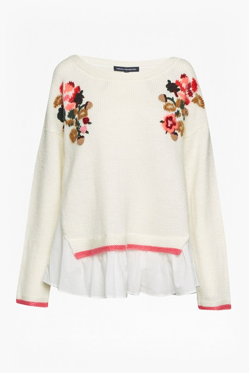 vienna knit long sleeve jumper