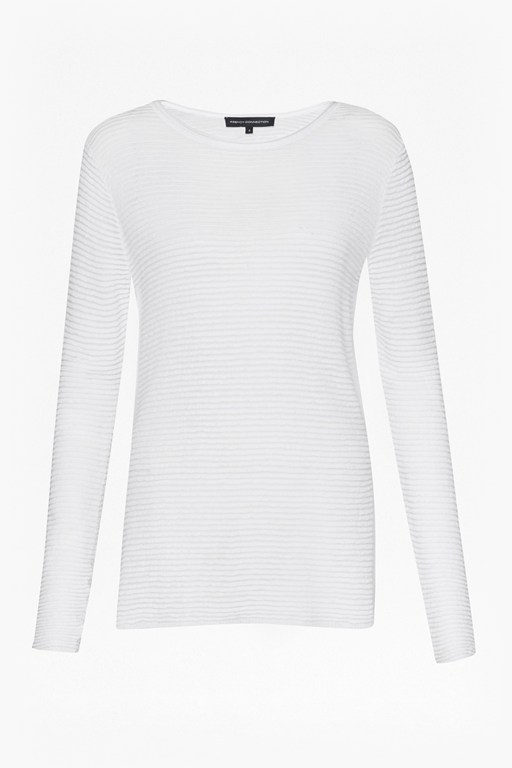 richter knits ribbed jumper