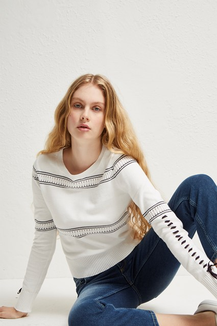 Skye Knit Crew Neck Jumper