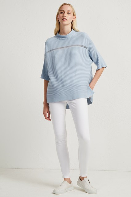 Lois Mozart High Neck Jumper