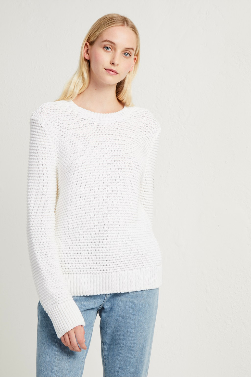 927b1e60 Mozart Knit Crew Neck Jumper | Collections | French Connection