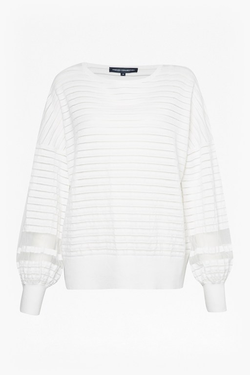 Complete the Look Astra Knit Balloon Sleeve Jumper