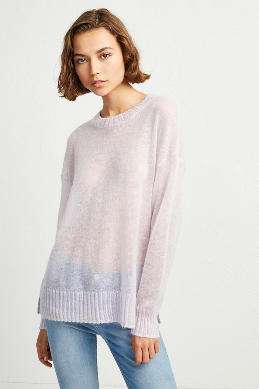 miri knit drop shoulder jumper