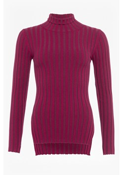 Two Tone Rib Knit Jumper