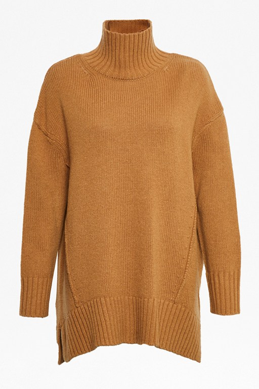 Complete the Look Supersoft Wool Cashmere High Neck Jumper