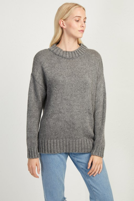 snuggle knit crew neck jumper