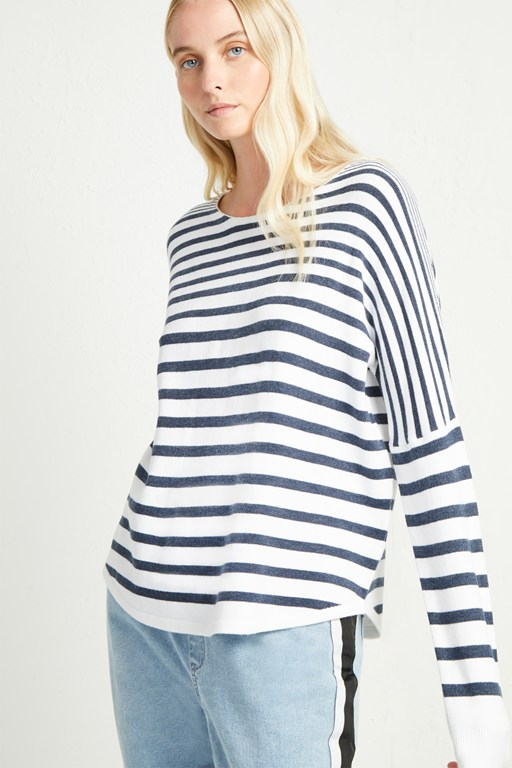 babysoft splendid stripe jumper