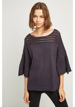 Luna Knit Fluted Sleeved Jumper
