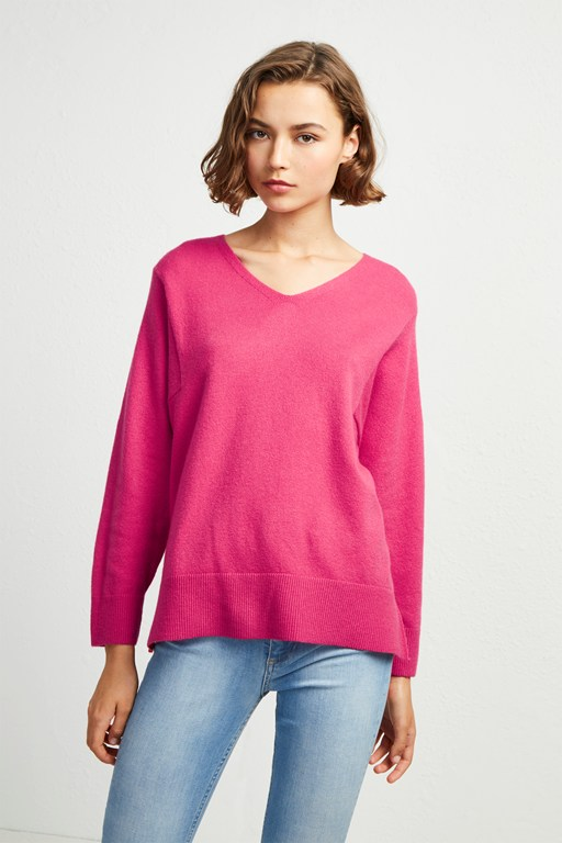 Complete the Look Ebba Vhari V Neck Jumper