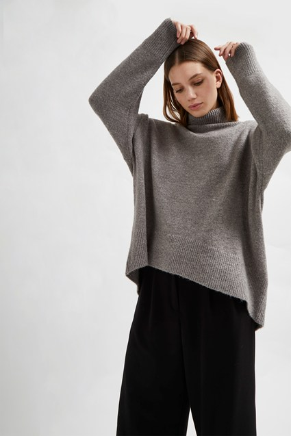 Nina Knit High Neck Jumper