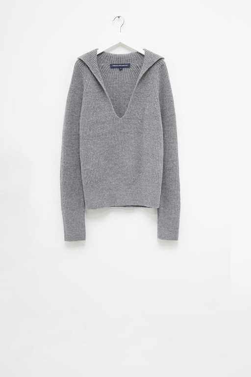 Complete the Look Faya Rib Knits V Neck Jumper
